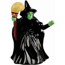 4 Inch The Wicked Witch of the East in a Black with Broom in Hand Bell ** More info could be found at the image url.