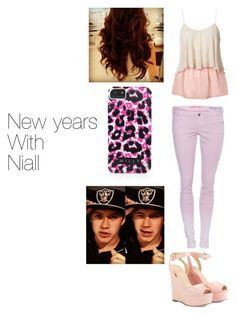 """New years with Niall"" by jayhoranhood13 ❤ liked on Polyvore featuring Lipsy, GUESS, Cole Haan and Milly"