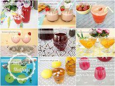 En Lezzetli 10 Soğuk İçecek Tarifi - Malzemeler : Alcoholic Drinks, Pudding, Glass, Desserts, Food, Pasta, Hibiscus, Tailgate Desserts, Deserts
