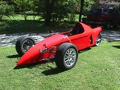 A reverse trike's handling is closer to a 4-wheeled car than a conventional trike. Description from classicmotorsports.com. I searched for this on bing.com/images