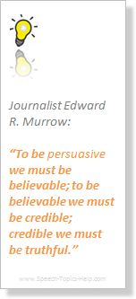 Being believable and credible is equal to the truth in #journalim.