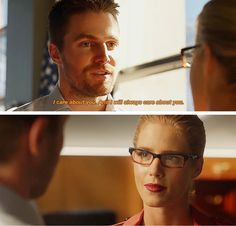Me talking to Oliver | 5x05