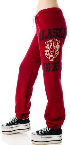 JET by John Eshaya Tiger Print Sweatpants | Dolls Kill
