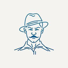 Shaheed Bhagat Singh | Popular Indian Freedom Fighters 3 of 9  #inquilab #desiconography #iconaday #icon #icondesign #art #design #ui #flatdesign #lineart #minimal #india #indian #desi #graphic #sardar #shaheed #singh #bhagatsingh #freedom #struggle #britishraj #iconography #creative #neverstopcreating #dailyproject #dailyproject #2016 #inspiration @iconaday @designspiration #dribbble #abduzeedo by http://ift.tt/1Tw1JHv