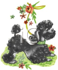 Google Image Result for http://www.clipartguide.com/_named_clipart_images/0511-1001-0516-2252_Vintage_Poodle_Playing_in_the_Grass_clipart_image.jpg