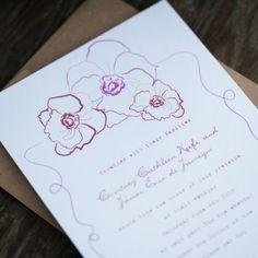 Frida Khalo Wedding Invitations Fiesta Wedding Invitations - MK - Top Flowers - Like how just the outline