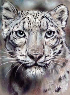 'Endangered Mask' by astarvinartist on DeviantArt Diviant Art, Pastel Drawing, Wildlife Art, Big Cats, Knight, Creatures, Pastel Paintings, Drawings, Artist