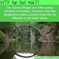 The Devil's Bridge - WTF fun fact