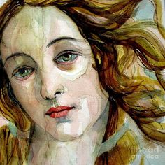 Birth Of Venus Painting  - Birth Of Venus Fine Art Print