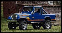 1984 Scrambler Jeep Pickup, Jeep Truck, Jeep Scrambler, Cj Jeep, Jeep Life, Classic Trucks, Vintage Cars, 4x4, Monster Trucks
