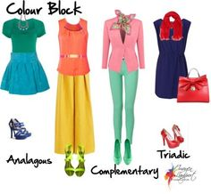 Colour Block - FABruary Style Challenge