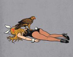 http://www.oversodoinverso.com/ilustracoes-divertidas-de-ben-chen/