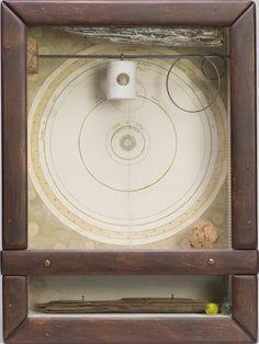 Joseph Cornell, Untitled (Systeme solaire), 1957-59