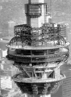 Construction starts on the CN Tower Feb 6 1973