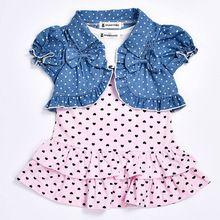 2017 verão venda quente do bebê roupas de menina recém-nascidos criança vest dress + short cardigan 2 pcs/suit crianças roupas conjuntos(China (Mainland))