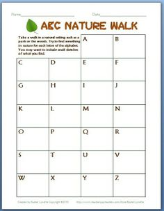 Some of the Best Things in Life are Mistakes: Nature Club for Kids with free Printables