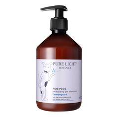 Revitalising 'Pure Paws' Organic Pet Shampoo and conditioner, Luxury Dog Shampoo Natural Dog Shampoo, Natural Pet Food, Pet Shampoo, Cat Health Care, Dog Wash, Pet Supply Stores, Online Pet Supplies, Cool Pets, Pet Grooming
