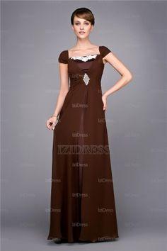 A-Line/Princess Off-the-shoulder Floor-length Chiffon Evening Dress - IZIDRESSES.com at IZIDRESSES.com