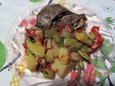 Devaneios Culinários da Tiazinha: Bochechas de porco estufadas com legumes