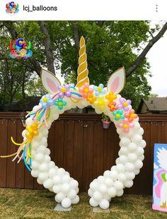 Unicorn Custom Balloon Arch