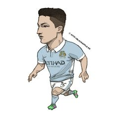 Manchester City No.76 Manu Garcia Fan Art