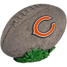Chicago Bears 3D Football Stone
