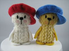 Cute Mohair Teds from www.etsy.com/shop/LittleBearCompany