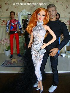 Jake Gyllenhaal Barbie Basics Model Muse The Look Red Carpet by Nikkisbarbieshopper