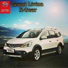 All New Grand Livina X-Gear Manual Rp.246.100.000 CVT Rp.261.100.000