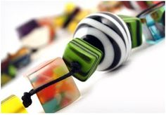 Sorbet Inspired Recycled Resin Jewelry ~ The Beading Gem's Journal