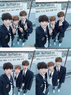 [07.11.16] Astro on twitter - SanHa, MyungJun e MoonBin