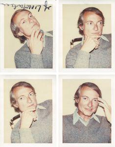 Andy Warhol, Roy Lichtenstein #polaroids #warholatchristies
