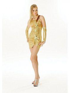 #Club #Minikleid #Gold von My-#Kleidung #Onlineshop Preis: 24,50 Euro
