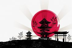 Japanese architecture PNG and Vector Japanese Pagoda, Ninja Party, Japanese Architecture, Label Design, Vector File, Clipart, Kyoto, Superhero Logos, Oriental