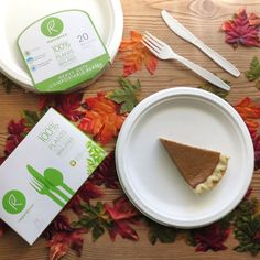 We're enjoying pumpkin pie on Repurpose because our tableware is BPA-free and eco-friendly! http://www.repurposecompostables.com/#intro
