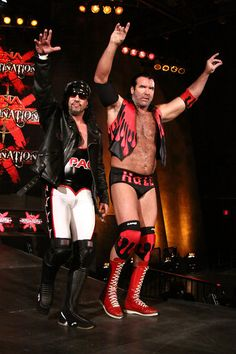 Scott Hall and Sean Waltman