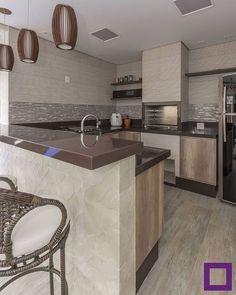 Love the color, texture of this neutral kitchen Home Decor Kitchen, Kitchen Design Small, Kitchen Design Open, Kitchen Decor, Kitchen Remodel Small, Modern Kitchen Set, Homemade Home Decor, Kitchen Redo, Kitchen Design