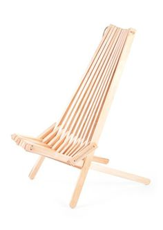 Eco Furn eco chair from Finland. Sustainable wood, assembled with rope!