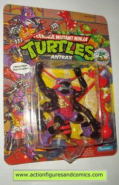 teenage mutant ninja turtles ANTRAX 1992 ANT vintage playmates toys mib moc mip tmnt