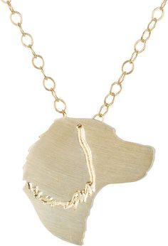 English Springer Spaniel Necklace -English Springer Spaniel Silhouette - Charm