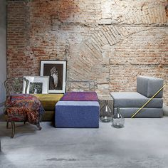 The first born of the ThESIGN range is a modular sofa designed to interpret the Italian way of living. RODOLFO adapts and creates that extra seat exactly when and where you need it – for an extra friend at dinner or for a surprise guest staying the night.