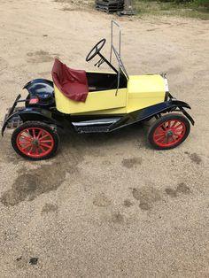 VINTAGE MCDONOUGH T-10 TIN LIZZIE, GO CART,SHRINER CAR-RUNS! #93MS in eBay Motors   eBay   john