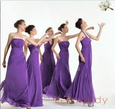 Rosa Clara Pretty Bridesmaid with long dress. Available in Red, Pink, Mint, Navy Violet and Lavender rose Bridesmaid Dresses Dresses 2013, Cheap Bridesmaid Dresses, Purple Wedding, Summer Wedding, Wedding Flowers, Wedding Gowns, Wedding Hair, Wedding Stuff, Wedding 2017
