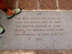 Footnote: Remembering Frau Van Riebeck, Wife of John Van Riebeck How To Remove, Van, Around The Worlds