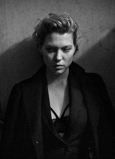 Lea Seydoux by Peter Lindbergh for Interview Magazine