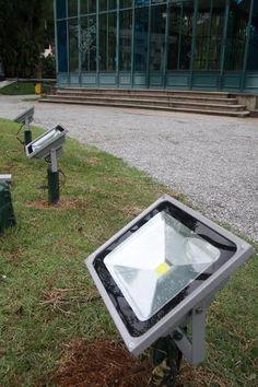 Palácio de Cristal já conta com iluminação de LED