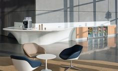 Office Refreshment Area and Reception Desk by Edwards Williams Furniture - Offices - Products - CDUK