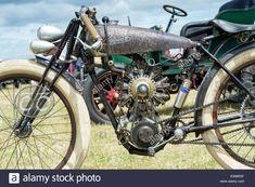 Peugeot 9 cylinder Radial engine bike