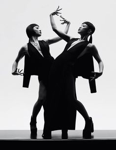 Chalayan, Mangekyou: Choreographers Aya Sato and Ryan Heffington; Photography Jacob Sutton; Styling Agata Belcen
