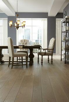 Oak hardwood flooring from Carlisle Wide Plank Floors